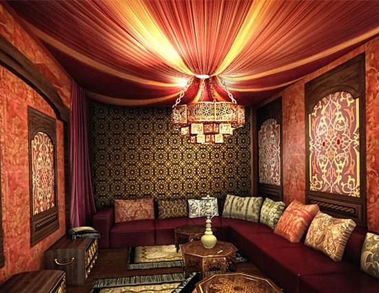 asian decor and oriental room design, modern trends in home ...
