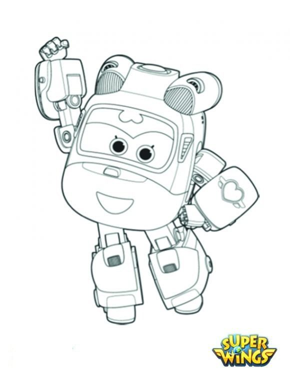 Www Pintarecolorir Org Discovery Kids Super Wings Desenhos Para