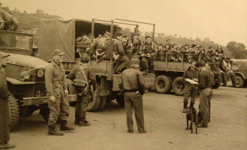 The 489th Bombardment Squadron In Corsica