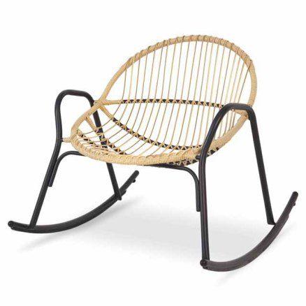 Instant Deco Castorama Fauteuil A Bascule En Rotin Chaise A Bascule Fauteuil Jardin