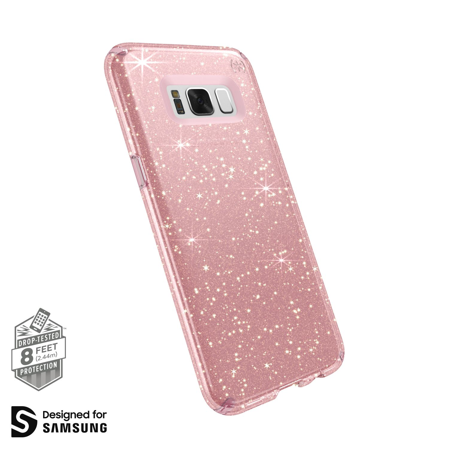 samsung s8 phone case rose pink