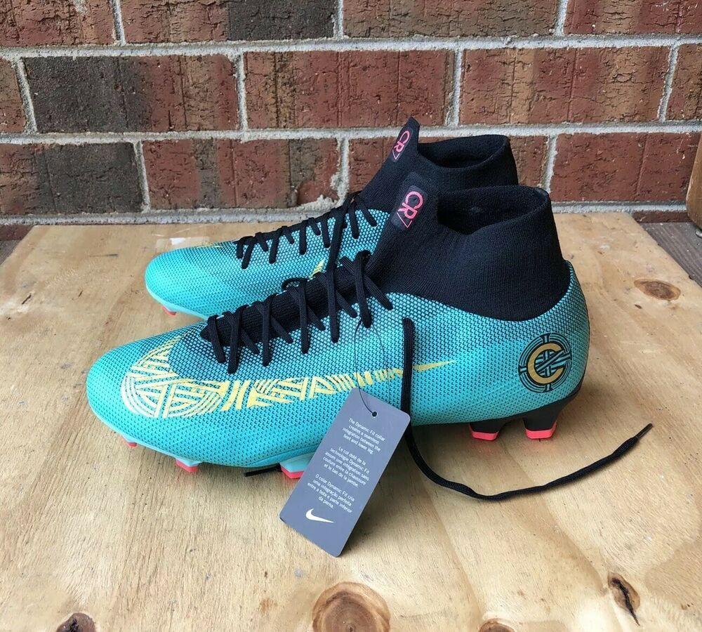Nike Mercurial Superfly 6 Pro CR7 FG Soccer Cleats AJ3550-390