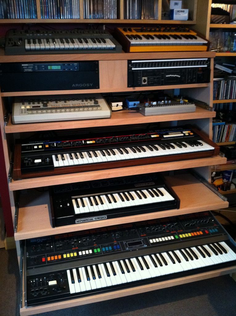 Keyboard Rack Recording Studio Furniture In 2019 Music