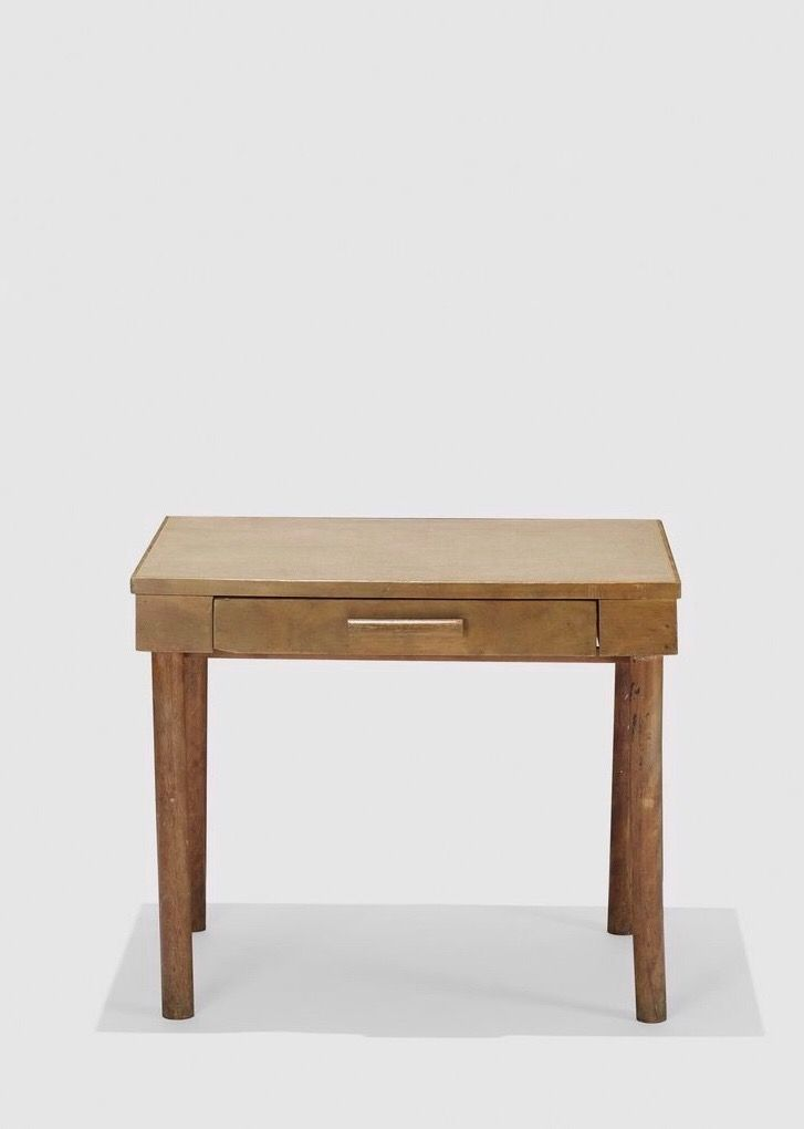 Charles Eames and Eero Saarinen rare and early desk from the Crow