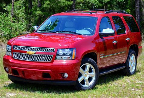 10. Chevrolet Tahoe (TOP10 Most Stolen Vehicles in U.S