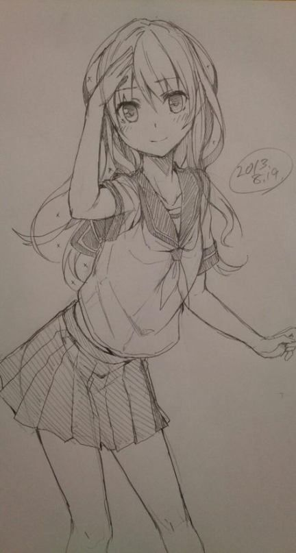 49 best Ideas for drawing anime girl art