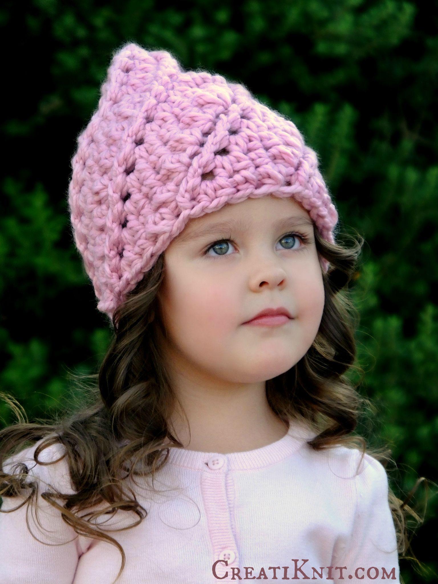 Lujo Patrones De Crochet Libre Sombrero De Quimioterapia Bosquejo ...
