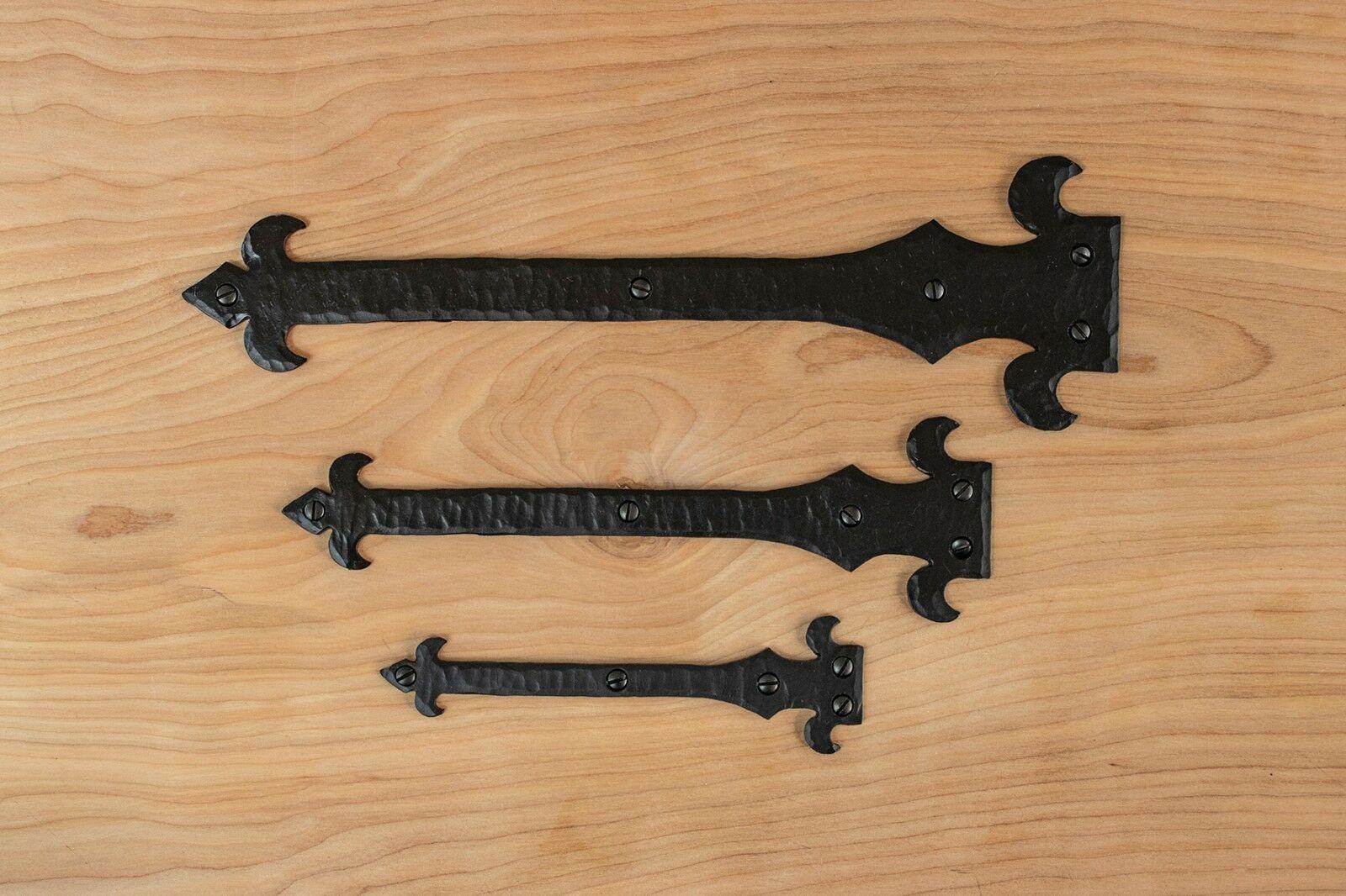 Iron T Hinge 12 9 6 Gate Hinge Decorative Hinge Gate Hardware Door Hardware Door Hinge Strap Hinge Rustic Iron Gate Hinges Iron Hardware Rustic Hardware