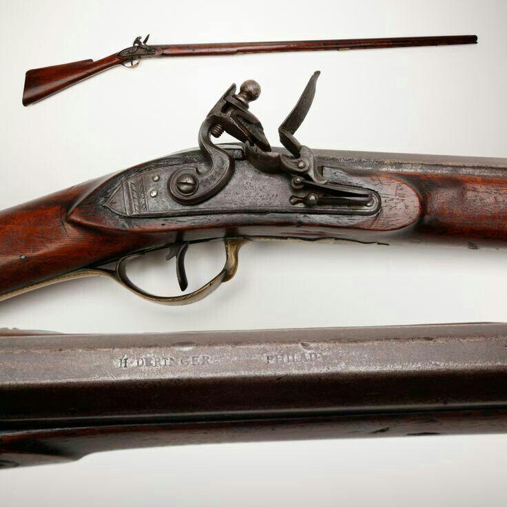 Guns, Firearms, Flintlock Rifle