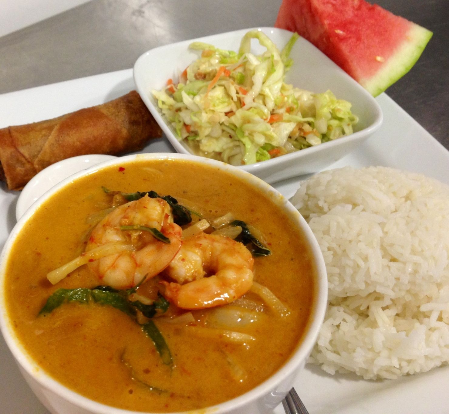 Shrimp Red Curry Lunch Special Curry Dishes Pinterest Curry