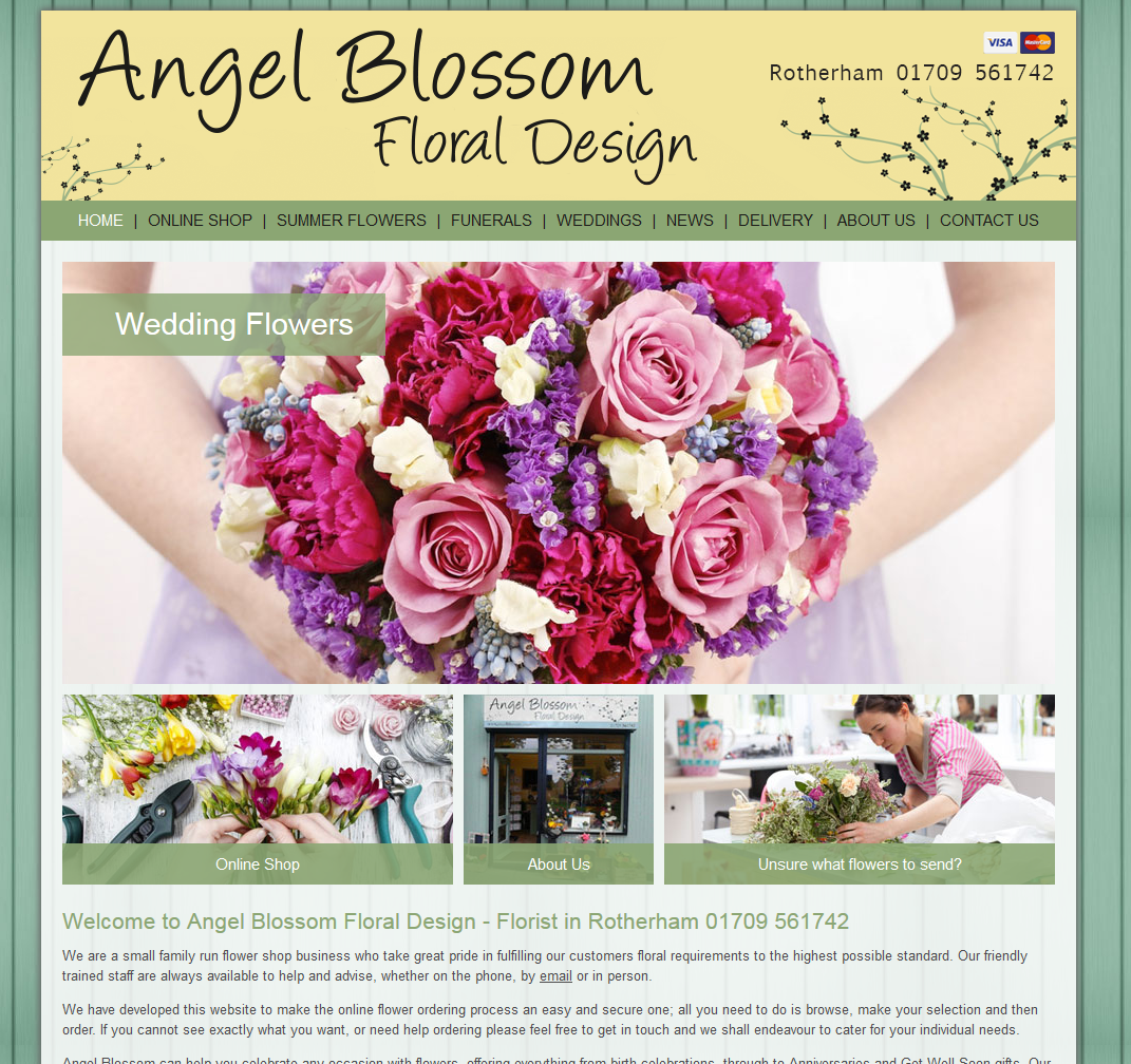 Angel Blossom Floral Design Rotherham