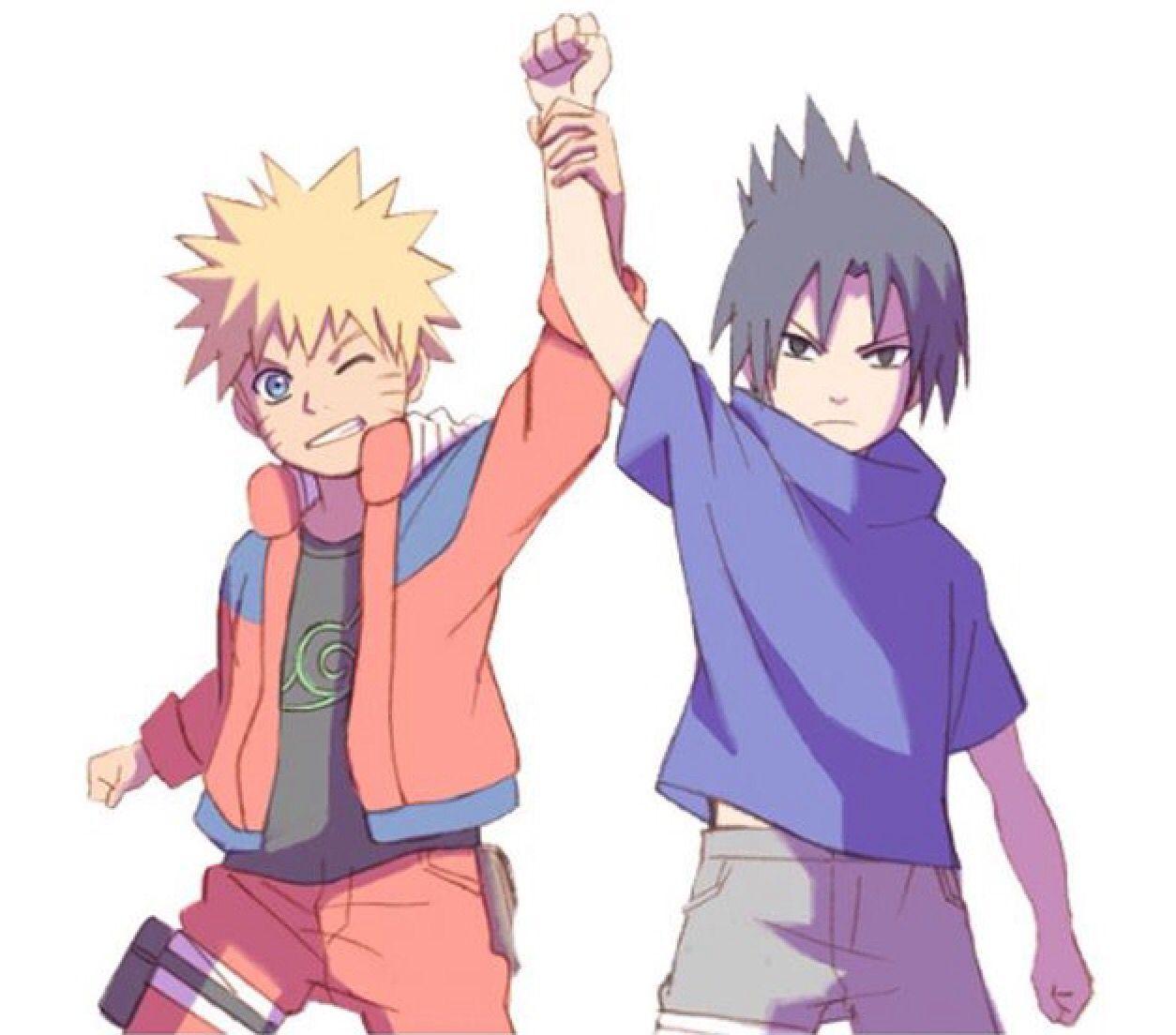 Kid Naruto & Kid Sasuke