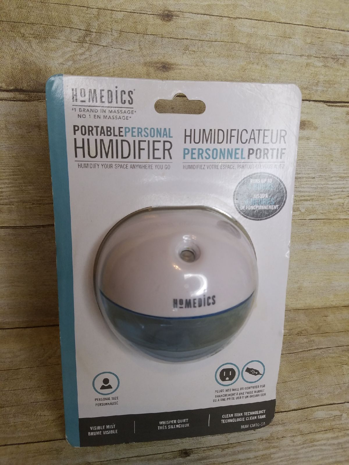 Homedics Portable Personal Humidifier Humidifier