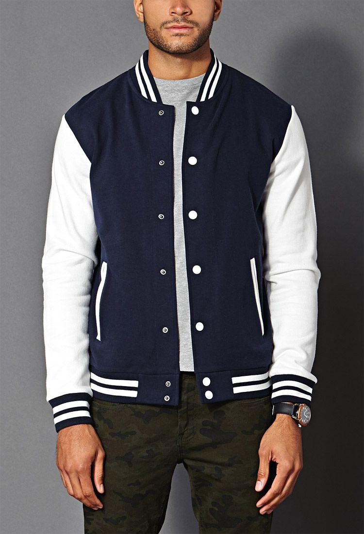 Classic Varsity Jacket 21 Men 2000071272 Varsity Jacket Men Varsity Jacket Men Streetwear Outfits [ 1101 x 750 Pixel ]