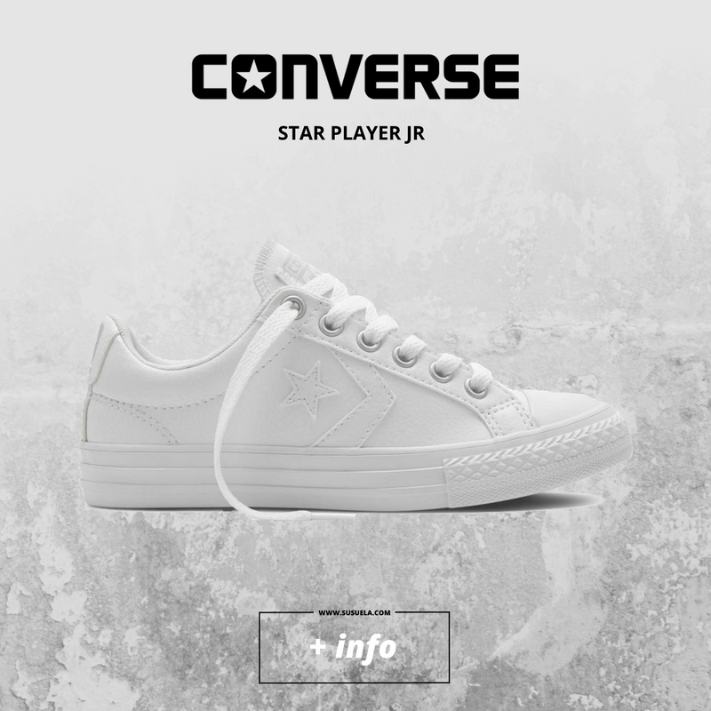 converse junior blancas