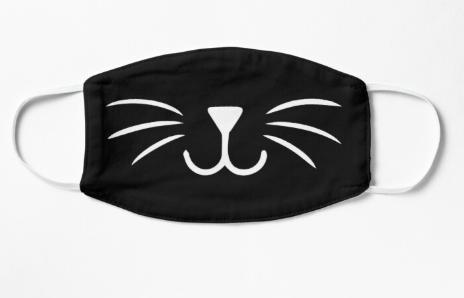 Cute Cat Face Cat Nose Cat Whiskers Face Mask Cute Gift Idea Mask By Clojamila Cat Nose Cute Cat Face Cat Mask Diy