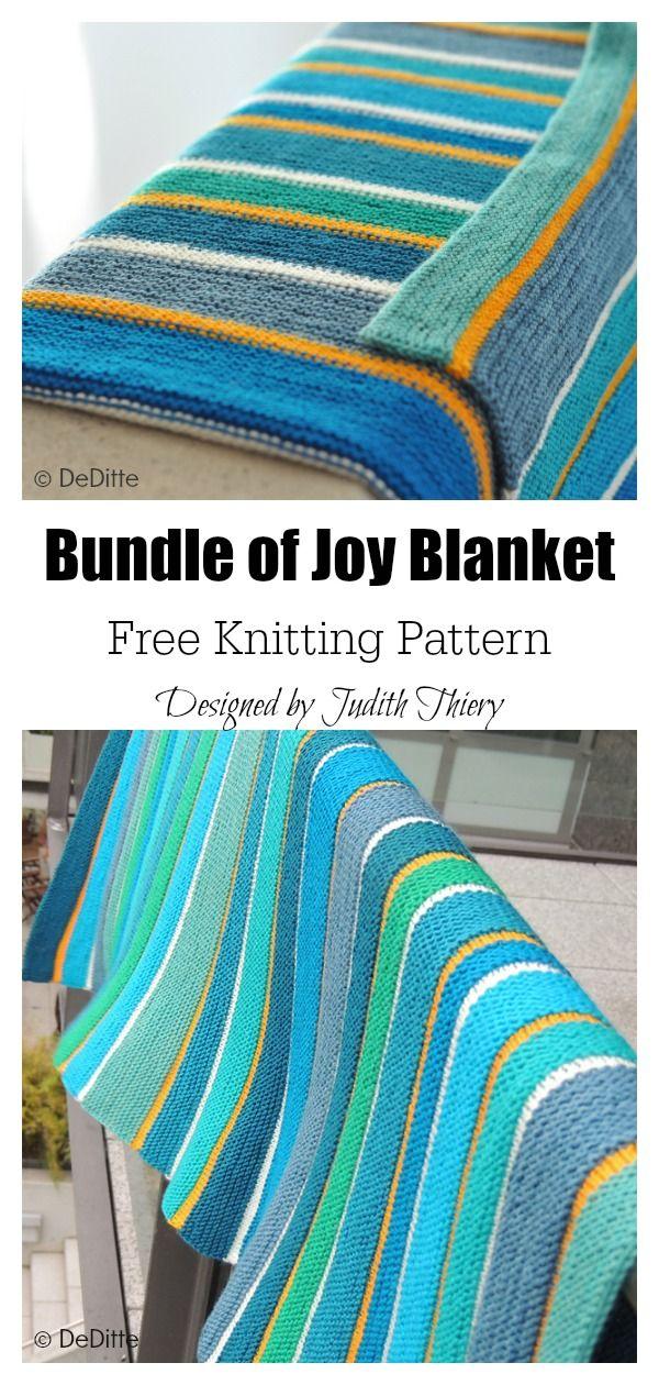 Bundle of Joy Baby Blanket Free Knitting Pattern | Free ...