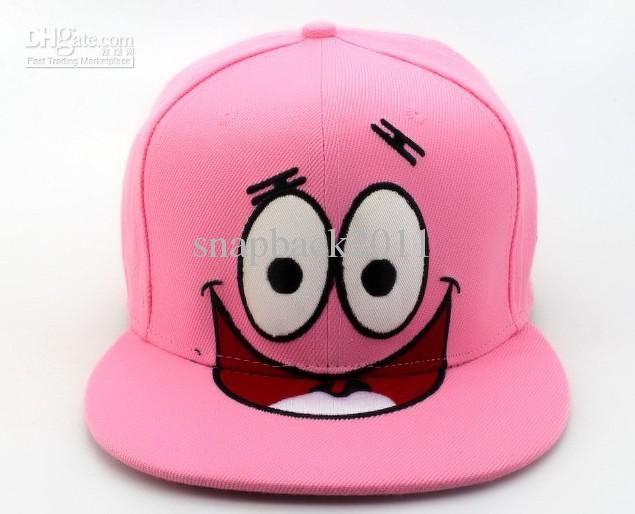 Pink Patrick Snapback Hats Sport Team Cap Snapback Hats Snapback Hats