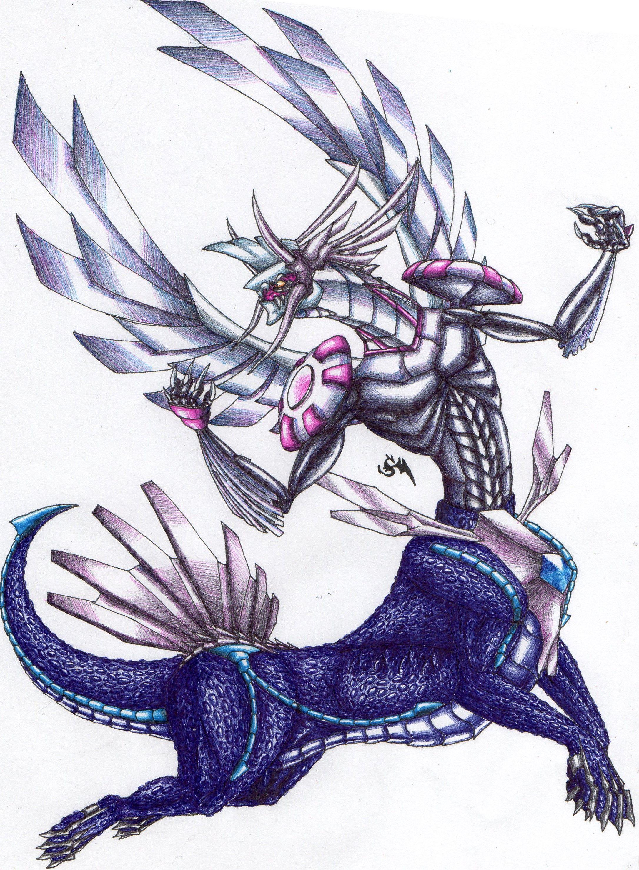 Dialkia (Dialga + Palkia), Pokémon fusion #pokemon # ...
