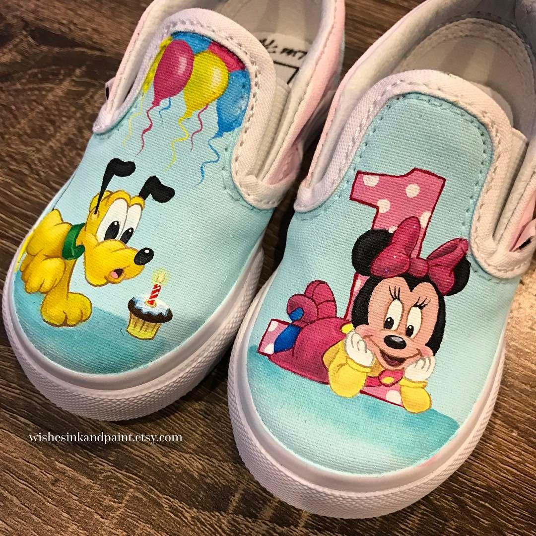 Custom painted Disney baby first