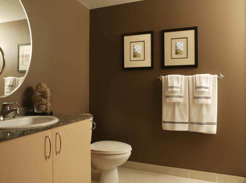 Surprising Clean Look Brown Bathroom House Decorating Remodeling Best Image Libraries Weasiibadanjobscom