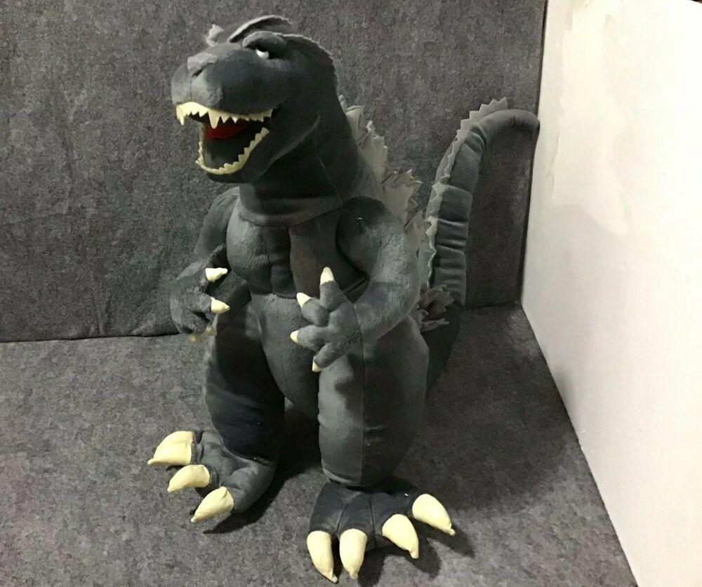 Ty Puppies Stuffed Animals, 2007 Toy Vault Toho Co Ltd Supersized Godzilla Stuffed Plush Toy Htf Rare Ebay Plush Toy Godzilla Plush