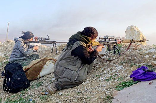 YPJ establishes a new formation for Yazidi volunteers liberated from ISIS.