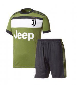 on sale 60882 3850a Kids Juventus 2017-18 Season Third Juve Kit [K871 ...