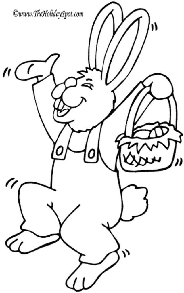 Keep Your Kids Entertained with Thousands of Easter Coloring Pages ...