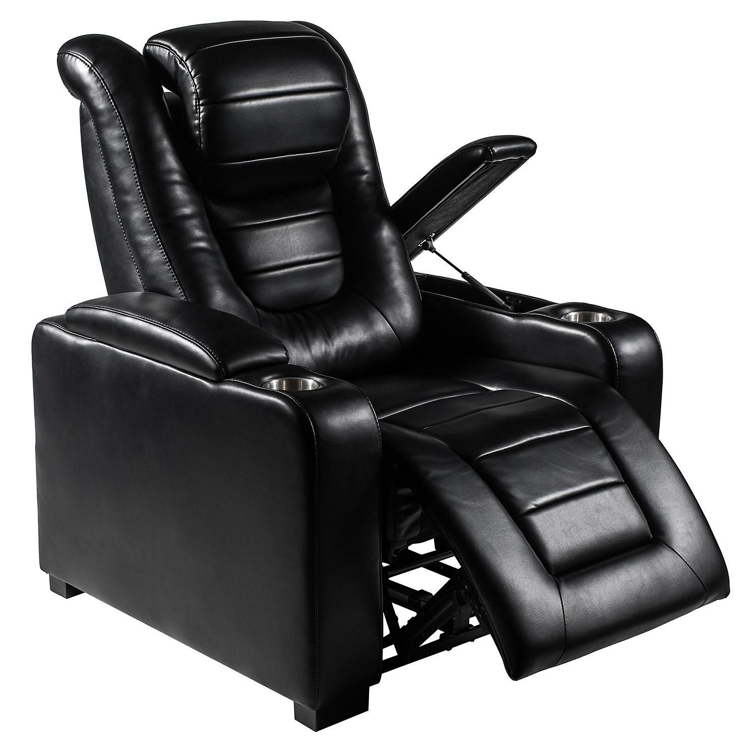Myles Power Theater Recliner With Adjustable Headrest Assorted Colors Sam S Club Theater Recliners Theater Chairs Power Recliners