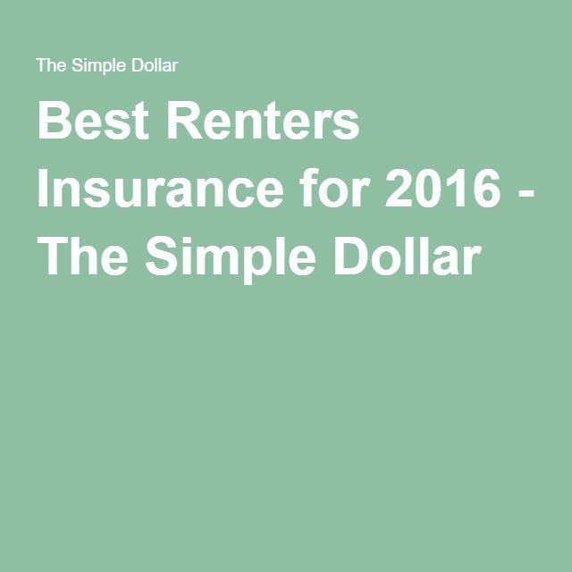 The Best Renters Insurance Of 2020 Best Renters Insurance