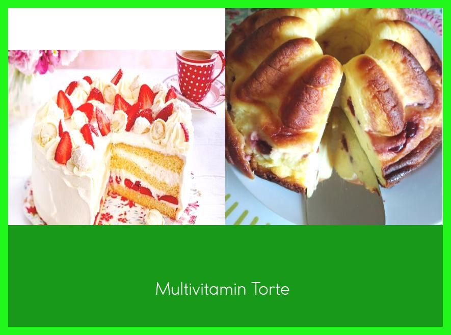 Photo of Multivitamin Torte