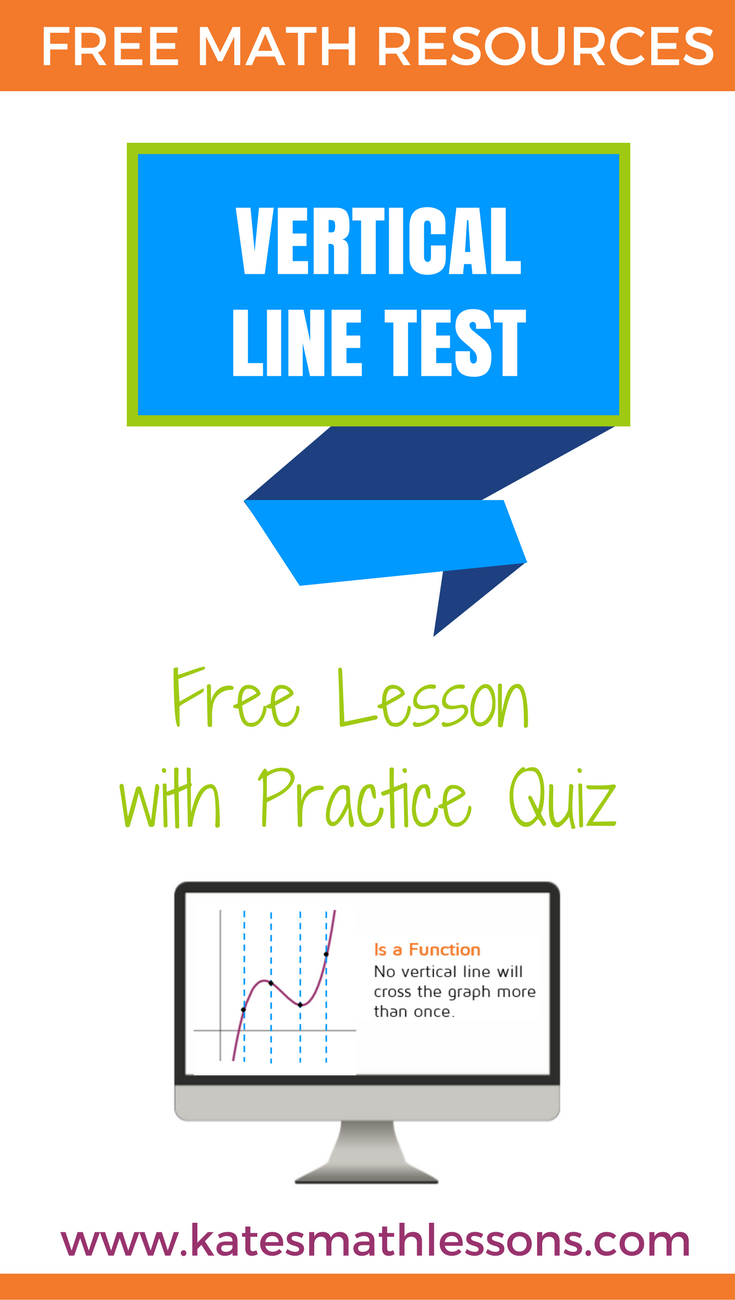 The Vertical Line Test | Algebra, Students and Maths