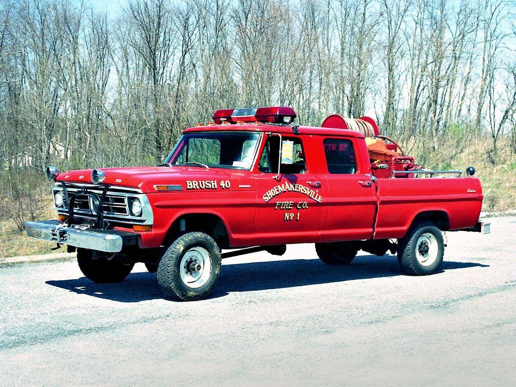 Ford F 150 Firetrack Trucks Fire Trucks Ford Trucks