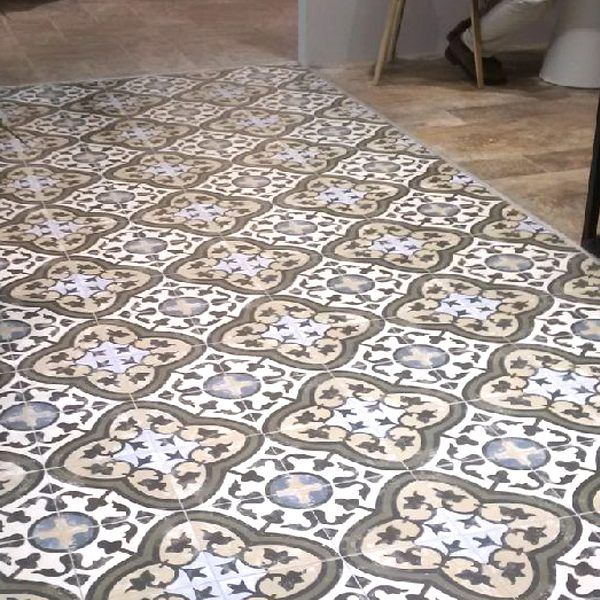 As The Name Implies These Patterns Are Printed And Fired Onto A Glazed Porcelain Tile Base At 1cm Thick They Perfect For Both Floors Walls
