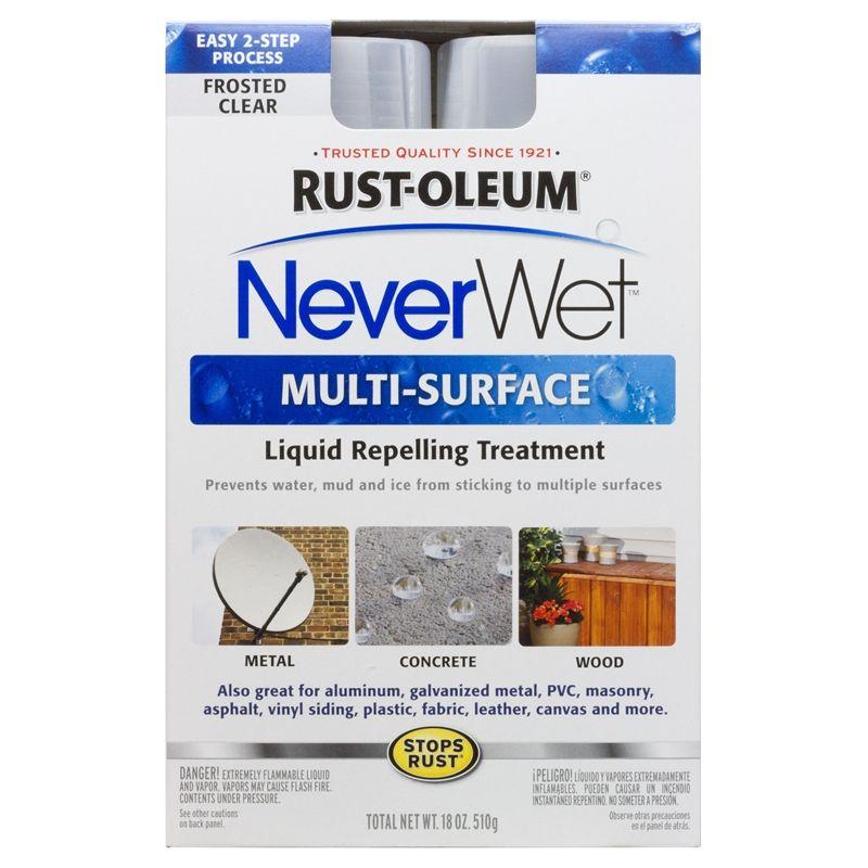 Find Rust-Oleum 510g Neverwet Multi-Surface Spray Kit at