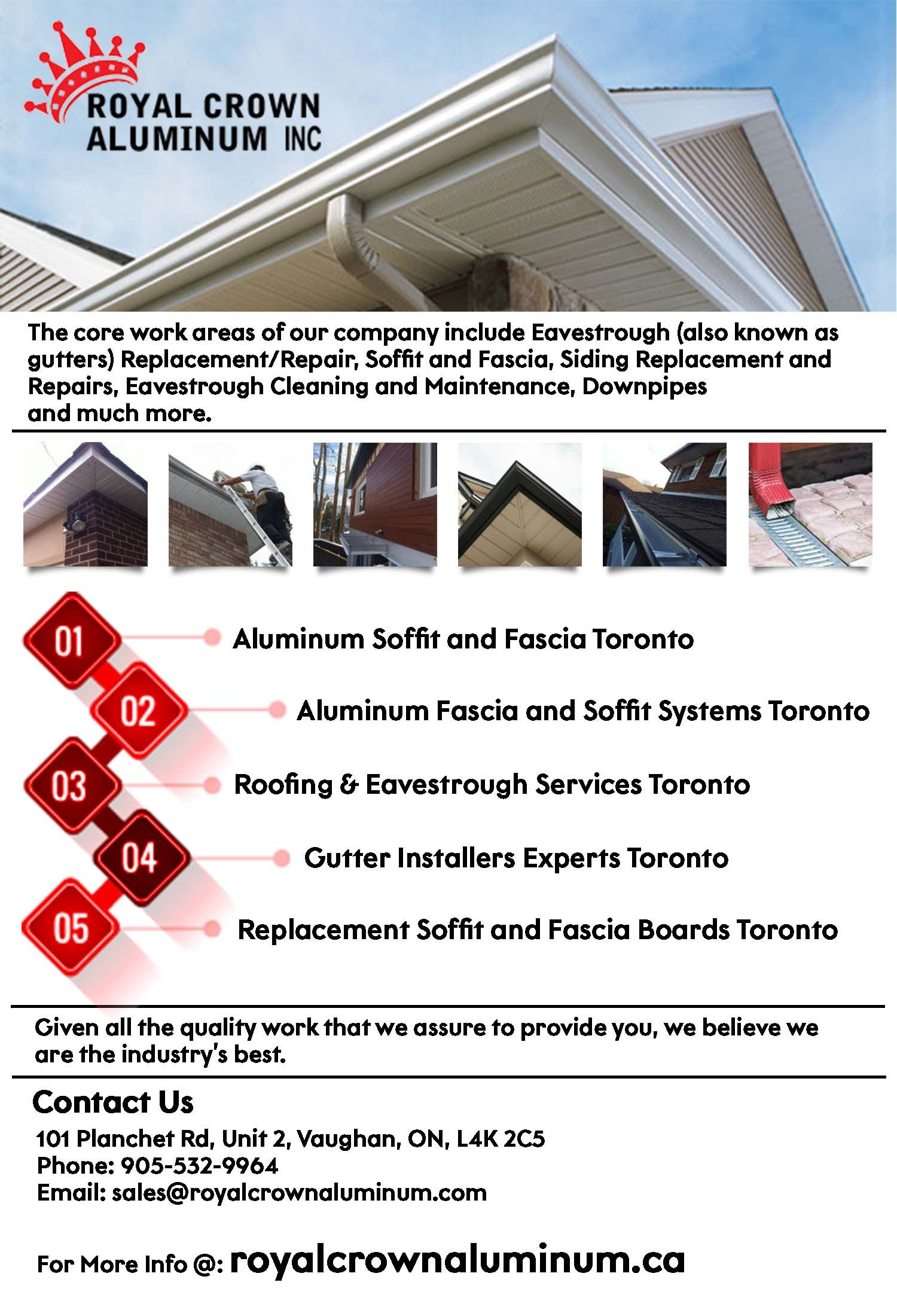 Gutter Installation Services Toronto For Adding The Seamless Water Passage Efficiency To The Roof Siding Repair Aluminum Siding Repair How To Install Gutters