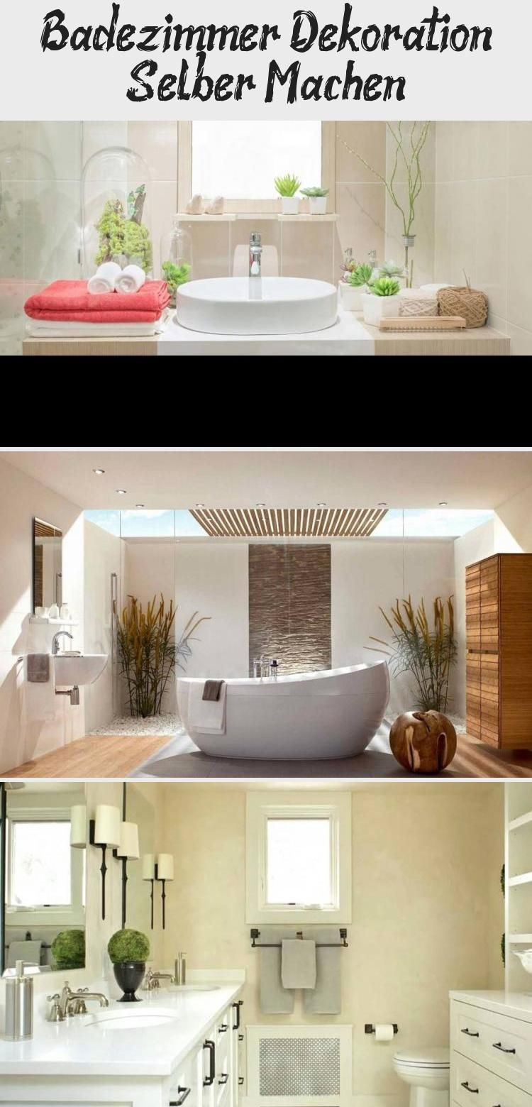 Badezimmer Dekoration Selber Machen In 2020 Lighted Bathroom