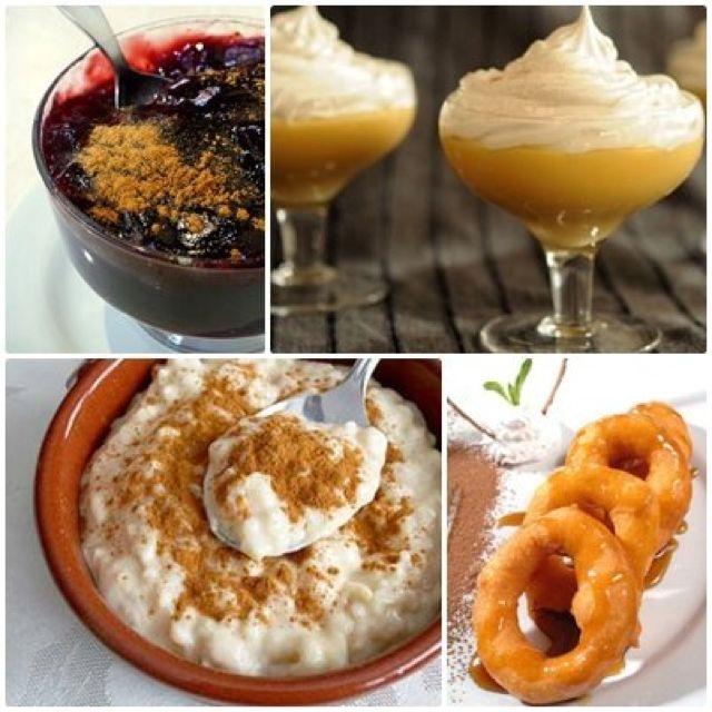 Peruvian Desserts - mazamorra morada, picarones, arroz con leche
