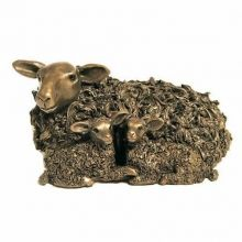 Bronze Ewe with Twin Lambs £95.00