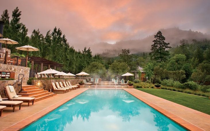 Top 10 Best Spa Getaways In The Us Hotels In Napa Wine Country