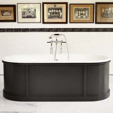 Freestanding Panelled Bath - Baths - Shop by type - Bathrooms   Fired Earth