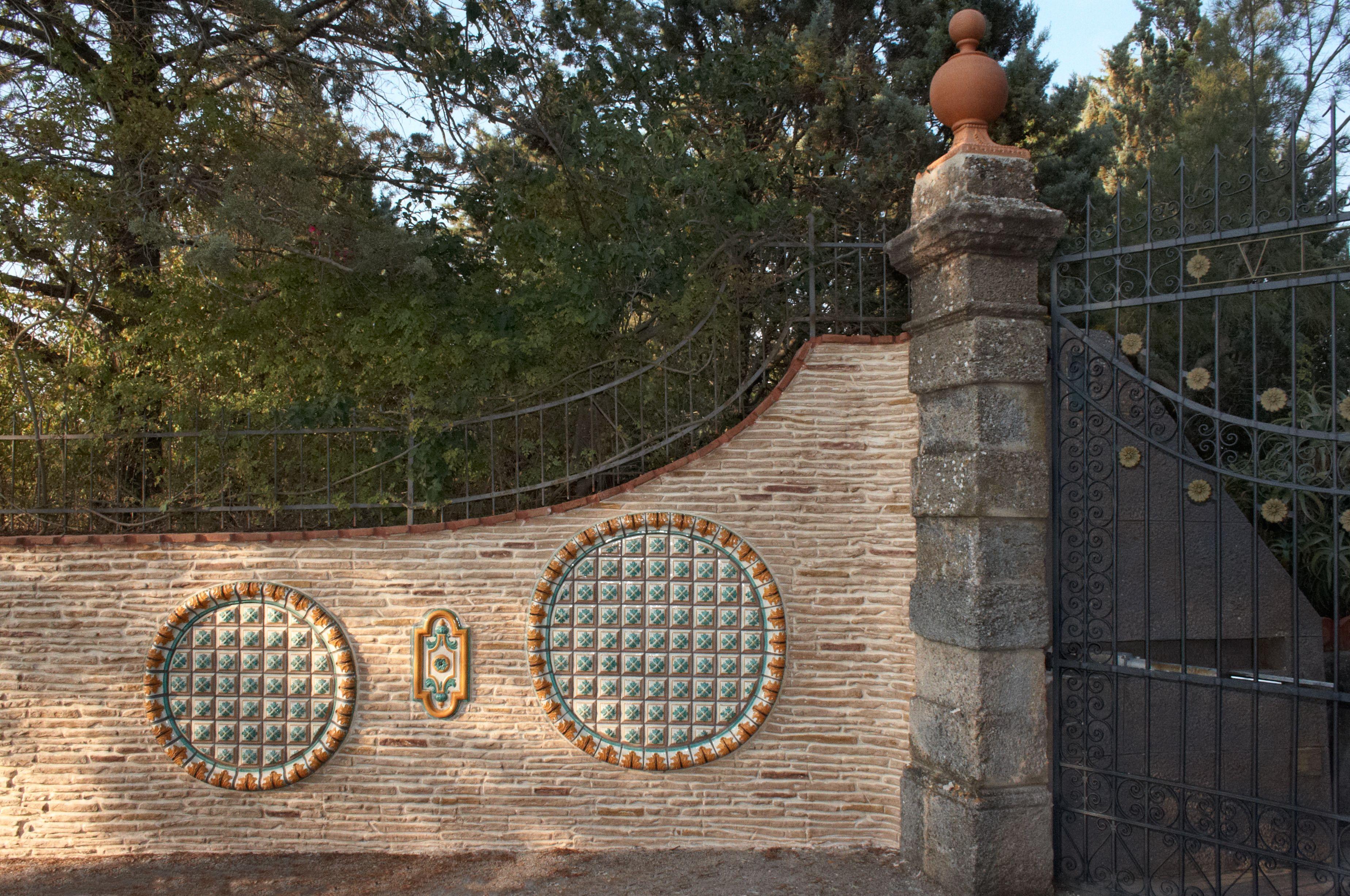 Muro Stampato per l'ingresso di un'abitazione: per chi ama distinguersi! #outdoor #wall #concrete