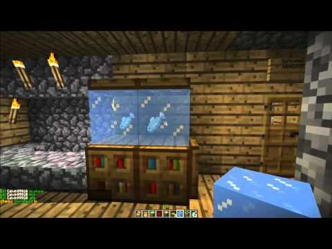 How To Make A Fish Tank In Minecraft Minecraft Furniture Episode