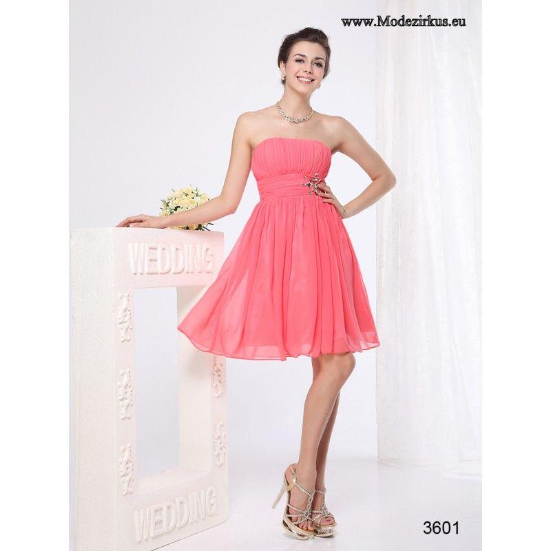 Traegerloses Kleid für Hochzeitsgaeste in 2020 ...