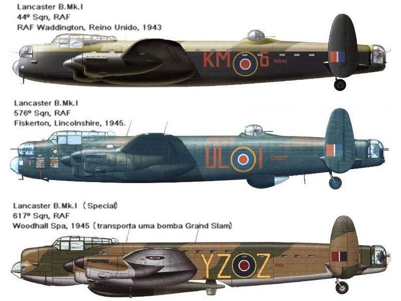 Avro 683 Lancaster Aerien