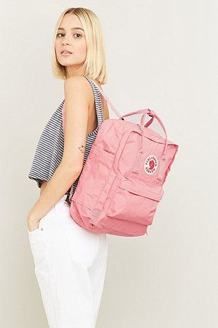 Urban Outfitters Pink Backpack Fjallraven Kanken Pink Backpack Outfit