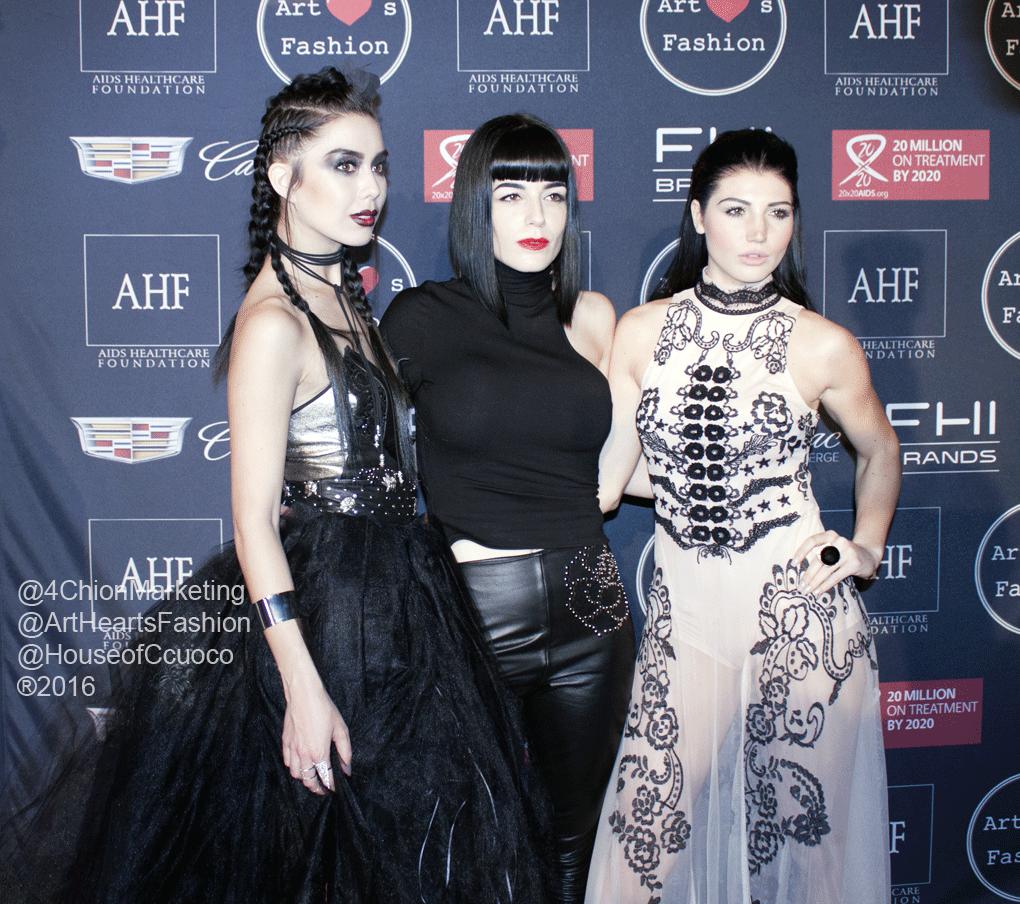 #houseofccuoco #artheartsfashion contemporary #couture #fashion on the #runway #LAFW #AIDSHealthcareFoundation