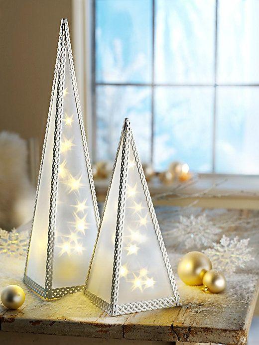 Weltbild Weihnachtskarten.Lichterpyramide Starlight 30 Cm Basteln Pyramiden