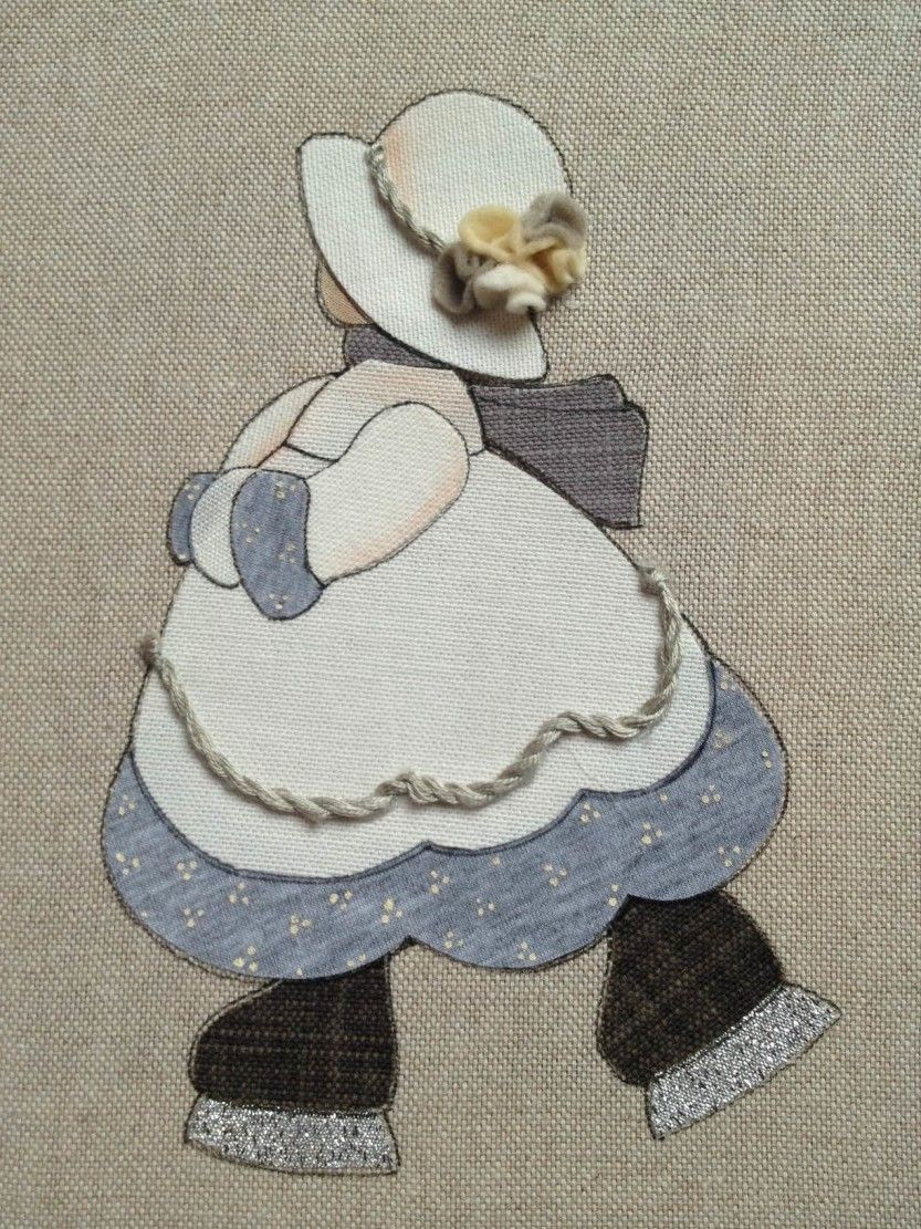 Sunbonnet Gennaio Termoadesiva | Country Creations